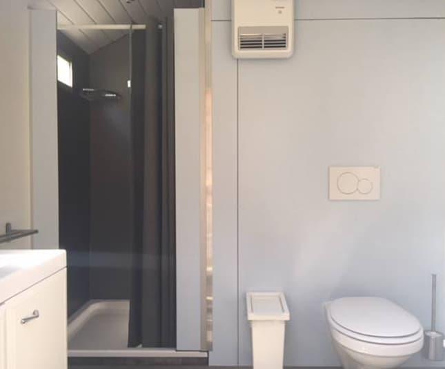 Badkamer op locatie
